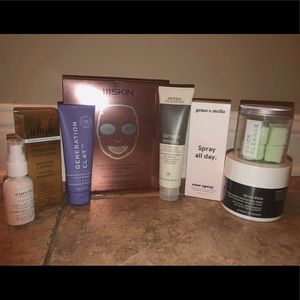 Face and hair beauty products!